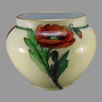 """WG&Co. Limoges Poppy Design Vase (Signed """"I.D. May""""/c.1910-1930)"""