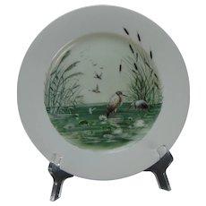 CFH Limoges Wetland Design Plate (c.1868-1881)