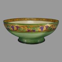 Haviland Limoges Grape Design Centerpiece Bowl (c.1910-1930)