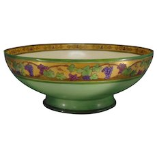 Haviland Limoges Grape Design Centerpiece Bowl (c.1910-1930)