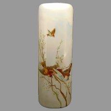 PH Leonard Austria Sparrow Design Vase (c.1910-1930)