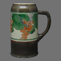 Ceramic Art Company (CAC) Belleek (American) Berry Design Tankard/Mug (c.1900-1920)