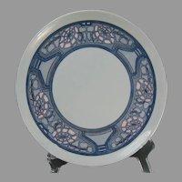 """Haviland Limoges Art Deco Floral Design Plate (Signed """"C.A.""""/c.1910-1930)"""