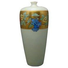 Rosenthal Bavaria Floral Design Vase (c.1909-1930) - Keramic Studio Design