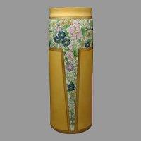 Lenox Belleek (American) Enameled Floral Design Vase (c.1906-1924)