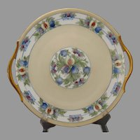 """T&V Limoges Fruit Design Serving Plate (Signed """"M.M.""""/Dated 1908)"""