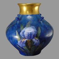 Haviland Limoges Iris Design Vase (c.1894-1930)