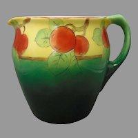 Ceramic Art Company (CAC) Lenox Belleek Apple Design Pitcher (c.1906-1924)