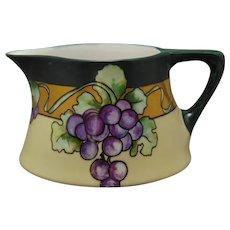P&P La Seynie Limoges Grape Design Pitcher (c.1910-1930)