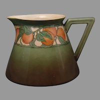"B&Co. Limoges Fruit Design Pitcher (Signed ""B.B.F.""/Dated 1916-1917) - Keramic Studio Design"