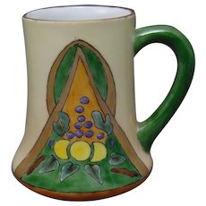 "H&Co. Bavaria Fruit Design Mug/Cup (Signed ""Evans""/c.1910-1930)"