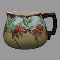 "Lenox Belleek ""Mountain Ash"" Design Pitcher (c.1905-1930) - Keramic Studio Design"