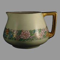 B&Co. Limoges Floral Design Pitcher (c.1910-1930's)