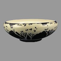 Willets Belleek Tree Design Bowl (c. 1903-1930's) - Keramic Studio Design