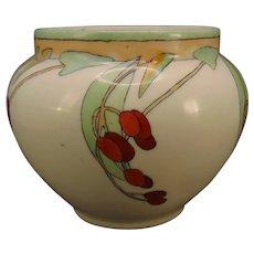 """WG&Co. Limoges Berry Design Planter/Vase (Signed """"C. Spadden Kittwell""""/c.1910-1930's) - Keramic Studio Design"""