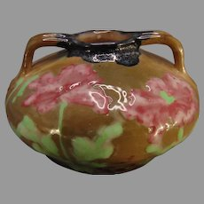 RStK Amphora Austria Poppy Design Vase (c.1900-1905)