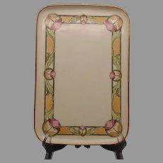 MZ Austria Floral Design Tray (c.1910-1930's)