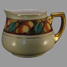 """WG&Co. Limoges Fruit Design Pitcher (Signed """"Snader""""/Dated 1908)"""