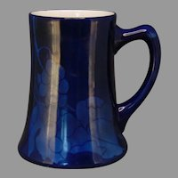 "JP Limoges Monochromatic ""Conventional Grape Panel"" Design Tankard/Mug (c.1912-1930's) - Keramic Studio Design"