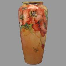 Rosenthal Bavaria Poppy Design Vase (c.1907-1930's)