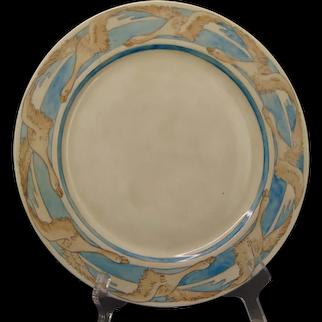 Haviland Limoges Swan/Geese Design Plate (c.1910-1930's)