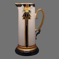 Classio Bavaria Art Deco Citrus Design Pitcher/Ewer (c.1910-1930's)