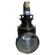 British Rail, Hand Signal Oil Lamp Railway Guard Lantern, SC, Railroad