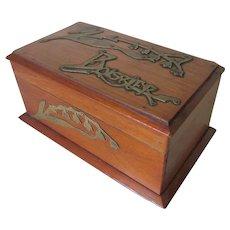 Antique Art Nouveau, Maison Boissier Paris, France Candy Box, Chocolate Box