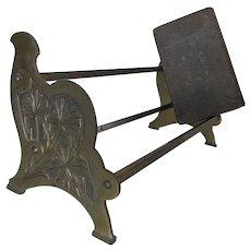 Antique Arts & Crafts, Art Nouveau Bookends, Desk Accessory