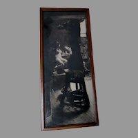 Antique Ferdinand Schmutzer Etching, Paris, Artist Sculpture & Nude Lithograph