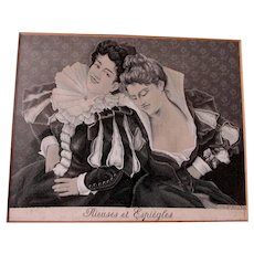 Antique French Silk Tapestry, Georges Achille-Fould, Stevensgraph