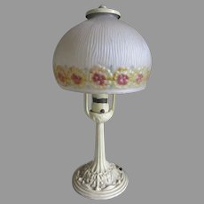 Pretty Antique Alladdin Art Deco, Art Nouveau Table Lamp