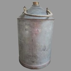 Antique Railroad Oil Can NYC & HRR New York Central, Hudson River Railroad Co
