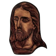 Antique Stained Glass, Christian, Jesus Christ, an Apostle or Saint