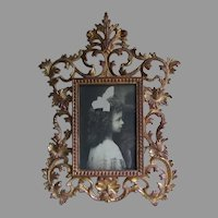 Antique Victorian, Edwardian Gilt Picture Frame, Mirror Frame