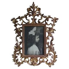 Antique Victorian, Edwardian Gilt Picture Frame, Mirror Frame