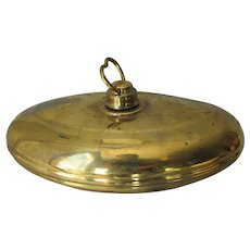 Antique Primitive Brass Foot Warmer