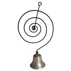 Antique Shopkeepers Bell, Primitive Door Bell