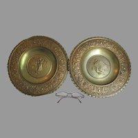 Antique Bronze Plaques, Angels, Children, Gargoyles by Bertel Thorvaldsen