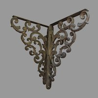Antique Architectural Corbels, Shelf Brackets, Victorian, Garden