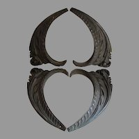 Beautiful Antique Bronze Architectural Elements, Acanthus Leaves