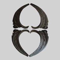 Beautiful Antique Bronze Architectural Elements, Acanthus Leaves
