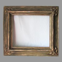 Antique Bruner's Hand Carved Picture Frame, Santa Rosa, California
