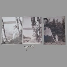 Art Deco Native American Indian Motif Photographs Harry R Cremer