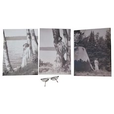 Art Deco Native American Indian Motif Photographs Harry R Cremer