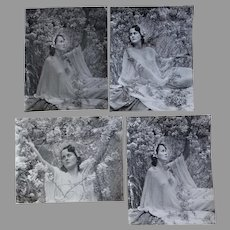 Art Deco Photographs Harry R Cremer, Lovely Ladies in Spring Flowers