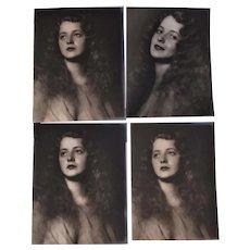 Art Deco Photographs Harry R Cremer, Lovely Lady, Portrait