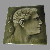 Antique Art Pottery Tile, American Encaustic Tiling Company