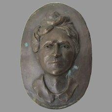 Alice Brown Davis, Principal Chief Seminole Tribe, Bronze Plaque
