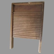 Antique Primitive Wood Washboard, Country, Farm House
